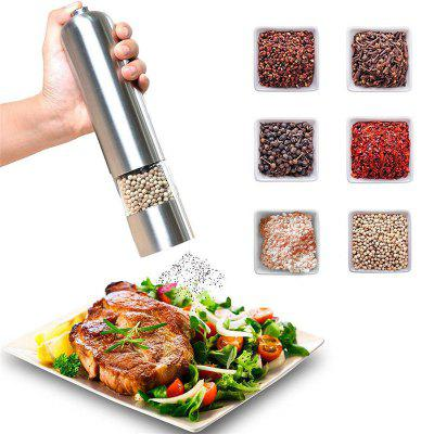 MIUK Electric Salt and Pepper Grinder Shaker Mill Kitchen Automatic Led Light