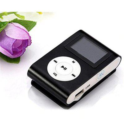 USB Clip MP3 Player LCD Supporto per schermo Scheda Micro SD TF da 32 GB