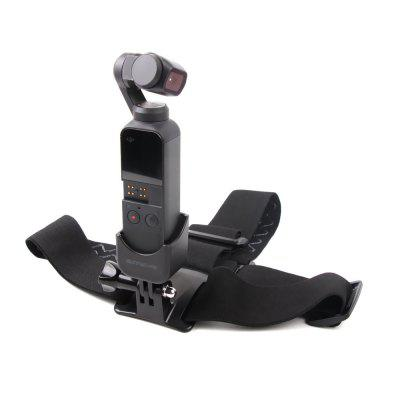 Head Band Wearing Belt Strap and Adapter for DJI OSMO POCKET / GOPRO Camera
