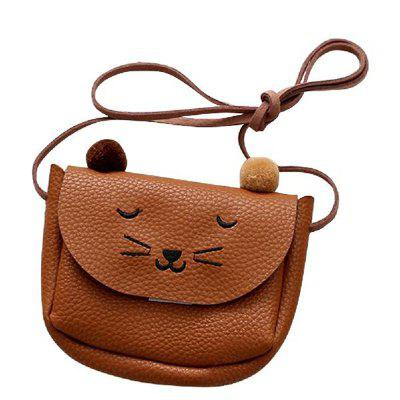 Cat Purse Children'S Crossbody Bag Baby'S Small One-Shoulder Bag