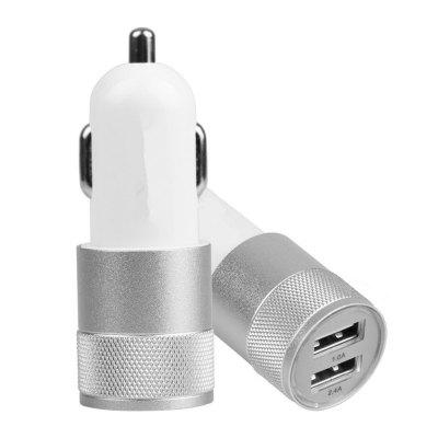 2 Port USB Car Charger 2.1A Fast Charging Mobile Phone charger Travel Auto Adapt