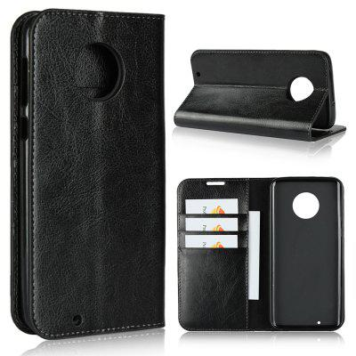 For MOTO G6 Plus Phone Case Protector Leather Cover