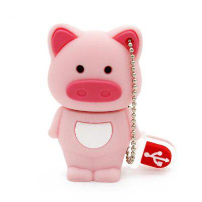Cute Pig U Disk USB 2.0 Flash Drive 2GB/4GB/8GB/16GB/32GB/64GB/128GB