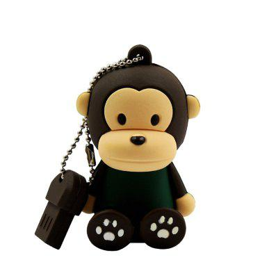 Флешка Mini Monkey USB U Диск 4 ГБ / 8 ГБ / 16 ГБ / 32 ГБ / 64 ГБ / 128 ГБ