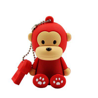 Mini Monkey USB Flash Drive U Disk 4GB / 8GB / 16GB / 32GB / 64GB / 128GB