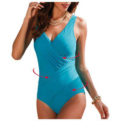 2019 Plus Size Swimwear Women Bodysuit Bathing Suits