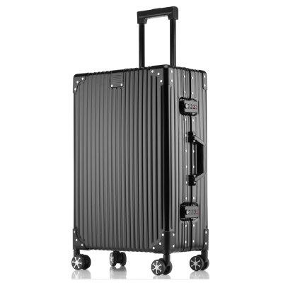 MATOM New Flower Wheel All Aluminum Magnesium Alloy Suitcase
