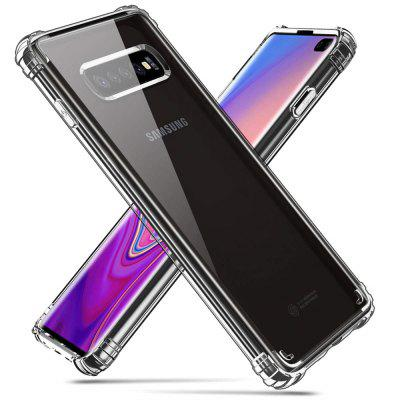 Transparente TPU Soft Anti-Fall Case para Samsung Galaxy S10 Plus