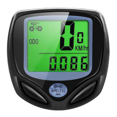Wireless Bicycle Computer  Waterproof Odometer Speedometer LCD Screen Display