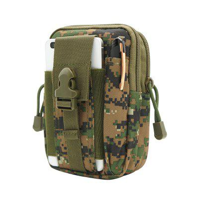 Outdoor Sports Camouflage Tactical Multi-Functional Canvas Purse Bag