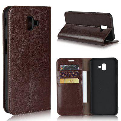 For SAMSUNG J6 Plus Phone Case Protector Leather Cover