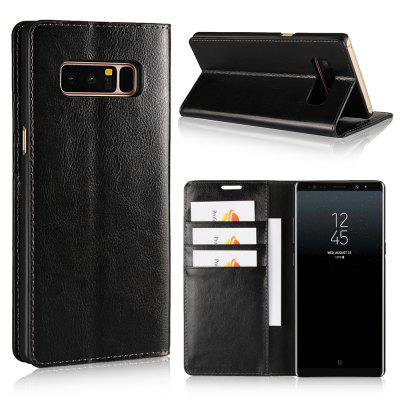 For SAMSUNG Galaxy Note 8 Phone Case Protector Leather Cover