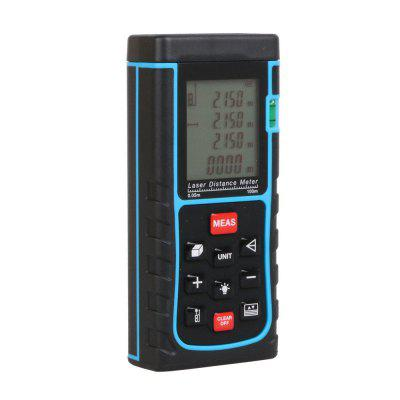 Laser Distance Meter with Bubble Level Tape Measure Device Ruler Test Tool 100M