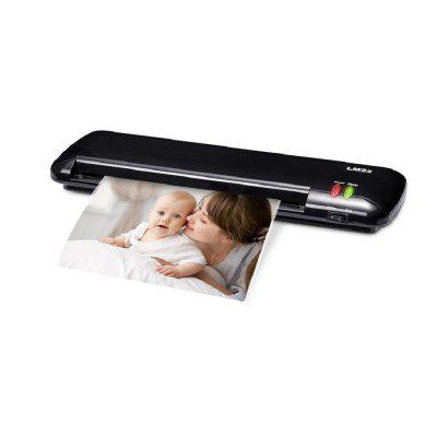 Office Fast Warm-Up Roll Hot Laminator Machine for A4 Paper Document Photo
