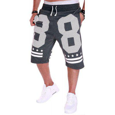 Men's Fashion Sports Printed Casual Shorts