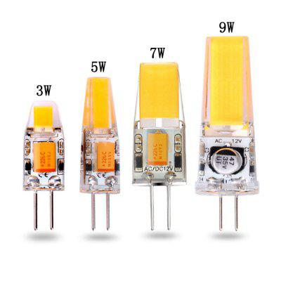 10pcs G4 Dimmable COB 12V-AC/DC COB-Light 3W-5W-7W-9WHIGH Quality LED Lamp Bulb