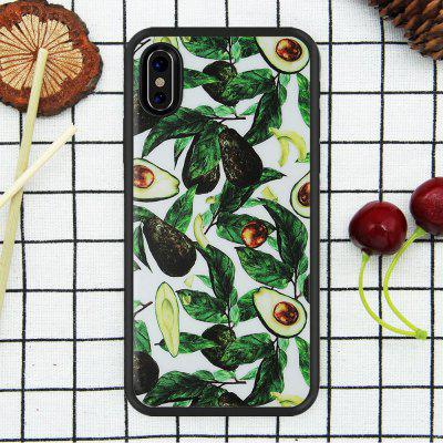 Cartoon Cool Resistant gsm-hoesje voor iPhone X