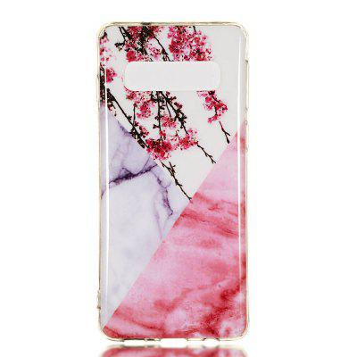 TPU Marbled Mobile Phone Case for Samsung Galaxy S10