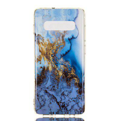TPU marbled mobile phone case for Samsung Galaxy S10 Plus