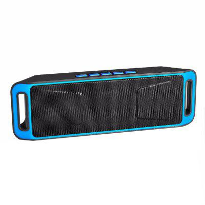 Portable Bluetooth Speaker Can Be Inserted TF Card  Bass
