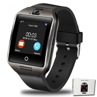 Gearbest Bluetooth Smart Watch Q18 With Camera Support