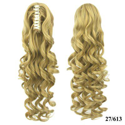 Grip Ponytail Long Hair Curly Hair Ponytail Hair Extension Wig