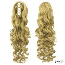 ae7e90589f Grip Ponytail Long Hair Curly Hair Ponytail Hair Extension Wig