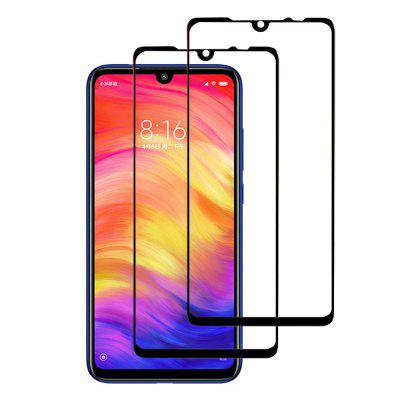 2PCS 0.26mm Full Cover Tempered Glass Screen Protector for Xiaomi Redmi Note 7