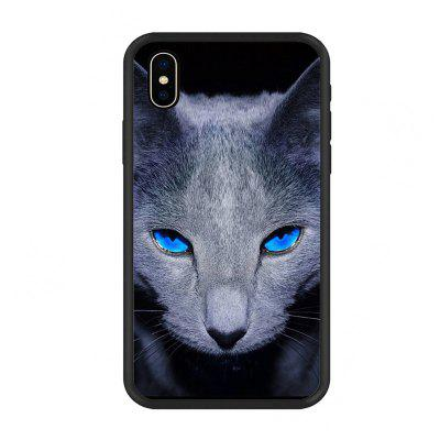 The kitten The gree Scratch Mobile Phone Case