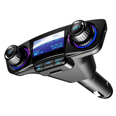 Multifuncional MP3 Player de Carro Bluetooth Receptor Sem Mão