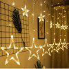 LED Lantern Starry Star Light 8 Function Night Light 220V - WARM WHITE