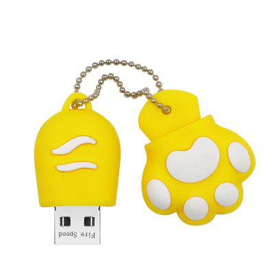 Cartoon Cat Paw U DisK USB 2.0 Flash Drive 8GB 16GB 32GB 64GB 128GB Pendrive