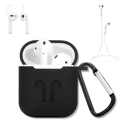 Earphones Protective Case Kit for AirPods Kit 4 In 1 Anti-Lost Stylish Cover