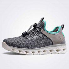 a1125ff967e HUMTTO Women Breathable Lightweight Leather Mesh Sneakers Jogging Casual  Shoes