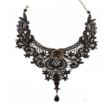 Lace Driled Lady's Clavicle Chain
