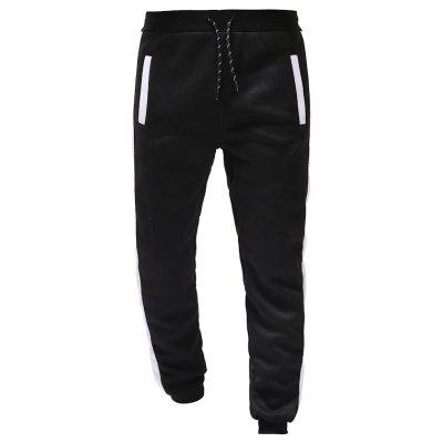 Color Matching Design Men Casual Fashion Loose Sports Casual Trousers