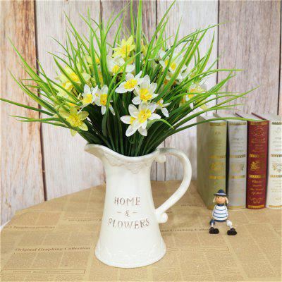 2PCS Daffodil Plant Bonsai DIY Home Garden Decoration for April Fools Day