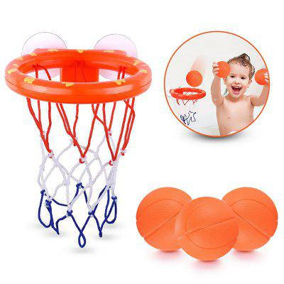 Bath Toy Basketball Hoop and Balls Set