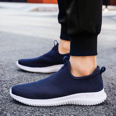 Men Lightweight Sneakers Breathable Women Causal Sports Shoes Mesh Couple Shoes