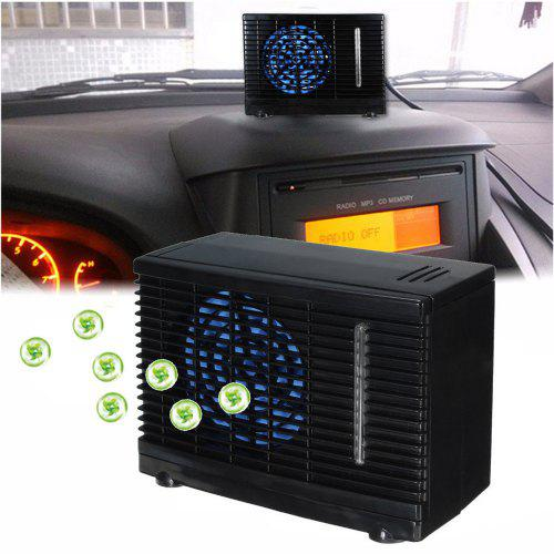 12V Portable Evaporative Mini Air Conditioner Home Water Cooler Cooling Fan