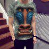 Orangutan 3D Print Fashion Men's T-shirt - MULTI