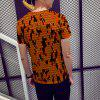 T-Shirt Camouflage 3D Printing Men - MULTI