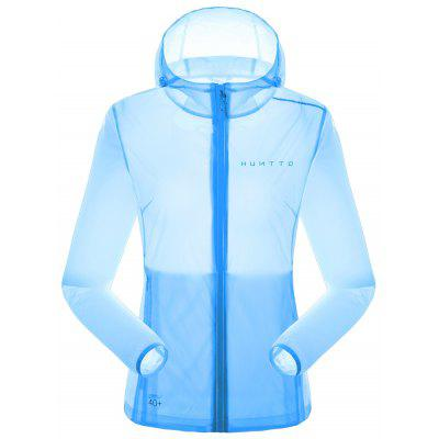 HUMTTO Sun-protection Jacket Women Ultralight Summer Sunscreen Skin Vêtements