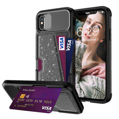 Flash Card Holder Phone Case for IphoneXS