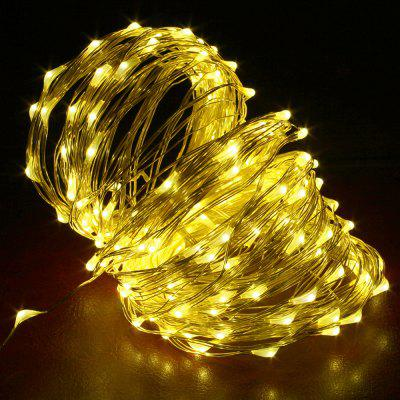 DC12V 20M drut miedziany Lampa Outdoor Starry Sky Birthday Party LED Lights String