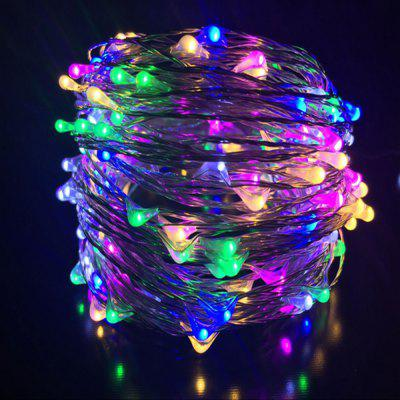 DC12V 50M drut miedziany Lampa Odkryty Starry Sky Birthday Party LED Lights String