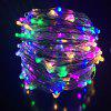 DC12V 50M Copper Wire Lamp Outdoor Starry Sky Birthday Party LED Lights String - MULTI