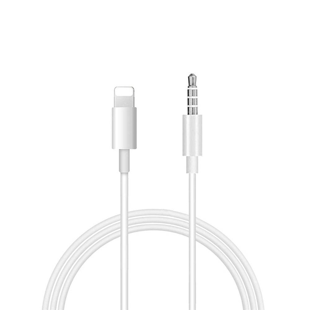 Aux Cord for Phone 3.5mm Aux Cable Phone 1M Compatible with Phone XS//XR//Pad//Pod//Speaker//Headphone Nylon Weave Black
