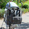 ALLCAMP Large Diaper Bag Support Baby Stroller with Changing Pad - LIGHT GRAY