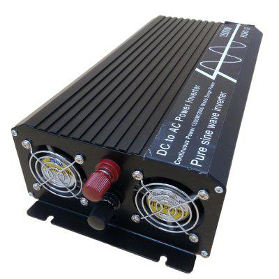 1500w/3000w Pure sine Wave inverter 12V turn 120V LCD with external screen displ
